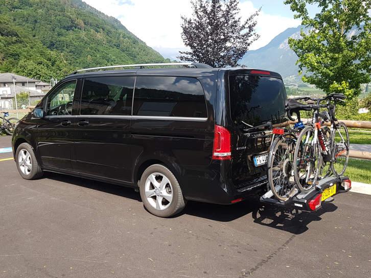 trasporto biciclette in trentino